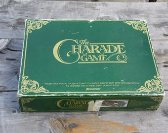 CHARADES The Charade Game vintage 1985 board game COMPLETE by Pressman ready for family game night parties fun fun fun