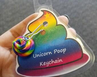 Custom Order for Bree - Unicorn Poop Keychains