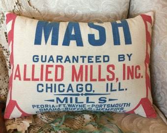 Grain Sack 12 x 16 Pillow Mash by Gathered Comforts