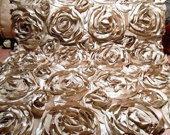Fabric Vintage Satin ribbon Art Remnant
