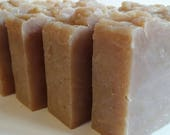 FRESH BAMBOO BEER Soap - hot process soap - hand crafted - contains oatmeal- shea butter - All Natural