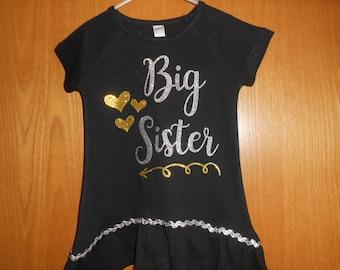 Big or Little Sister T shirt