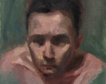 Oil Sketch 7, Small Painting