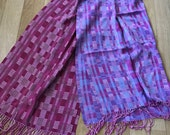 Hand Woven Shawl by Loom On The Lake