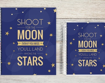 Monthly Planner | 24 Month Planner | Personalized Monthly Planner | 2 Year Planner | Monthly Planner Organizer | stars
