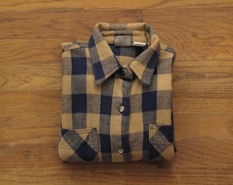 vintage womens Big Mac flannel work shirt