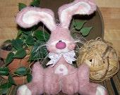 Primitive Bunny Shelf Sitter Ornie