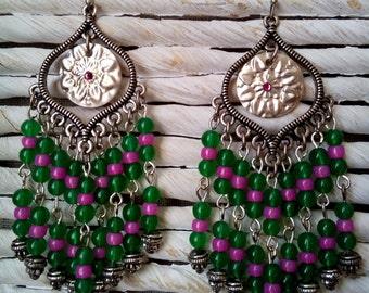 Boho tribal earrings