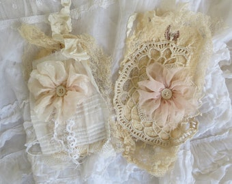 Lace Covered Tags