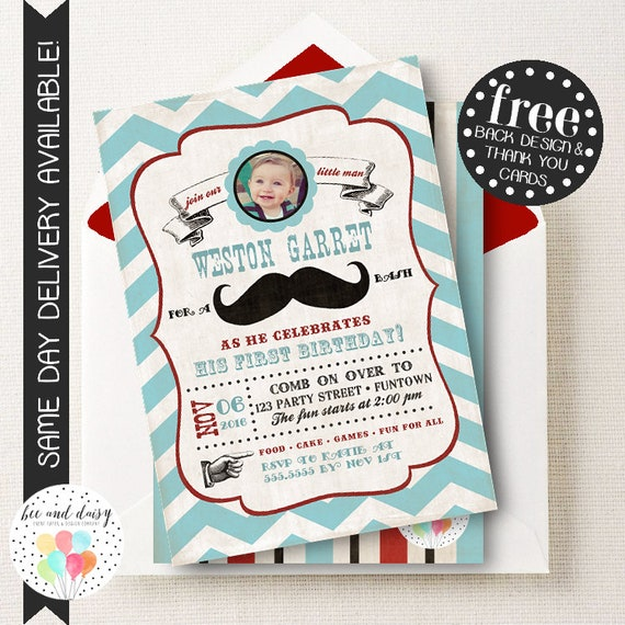 Mustache invitation mustache birthday invitation mustache party il570xn filmwisefo