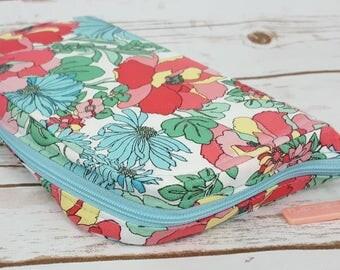 Zip Around Necessary Clutch Wallet - Floral