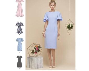 Simplicity Sewing Pattern 8292 Misses' Miss Petite Dresses New UNCUT