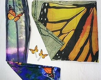 Gift pack holidays festival present for her fantasy woman butterflies