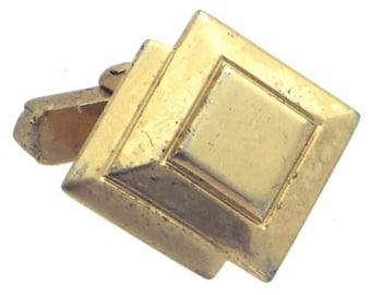Antique/Vintage Gold tone Cufflinks #1366