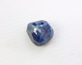 Sapphire Cabochon. 100% Natural Unheated / Untreated. Tavernier Rose Cut. Geometric. 6.90 cts. 10x11x6.5 mm (S1770)