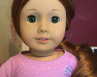 American girl doll red hair green eyes New out of box