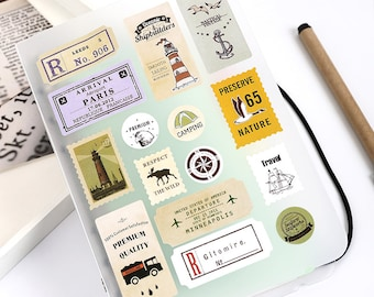 Korea Pretty Sticker Set - Planner Stickers Scrapbooking Stickers