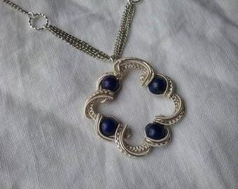 Lapis Lazuli cloud necklace