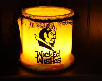 Wicked Wishes Halloween Lantern