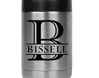Personalized Beverage Holder- 24807 Monogram with Name