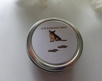 Pet Herbal Antibiotic Balm - Canine Healing Balm