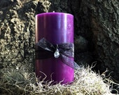 Intuition Pillar Candle - Witches candle, Candle magick, magic, altar decor, Wiccan, Pagan, witch