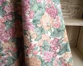 Vintage Decor Fabric , Floral Yardage , 4 Yards Sanderson's Primavera , Spring Primrose Garden Botanical Print , Garden Room Decor