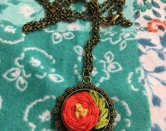 Large Posy Necklace
