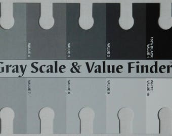 Grey Scale Value Card