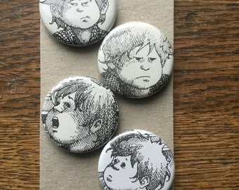 Alexander Upcycled Magnet Set (4)