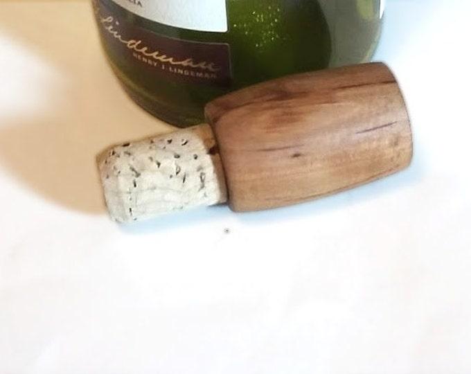 Wood Wine Bottle Stopper, Bottle cork, Liquor Stopper, Wood Bottle Stopper, Hostess Gift, Wedding Gift, Gift for Him, Gift for Her