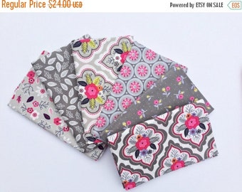 Sale Gray Half Yard Bundle Of 6 Paradise By Camelot Fabrics