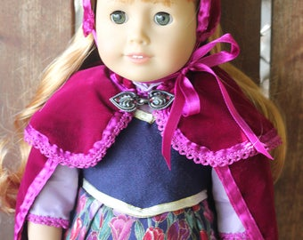 Frozen Collection, Anna's Travel outfit for 18in American girl dolls