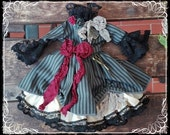 Vintage Victorian Vampire DRESS for Blythe by Antique Shop Dolls