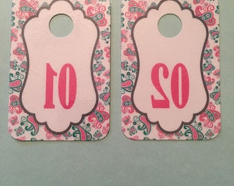 50 Non-digital Reverse Printed Tags for Facebook Live Sales