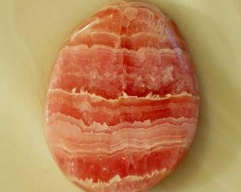Argentina Rhodochrosite  Gemstone Cabochon