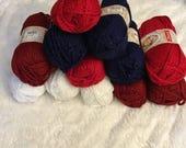 Deborah Norville Chunky Serenity Yarn Sparkle DeStash  (12 balls)