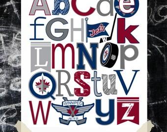 WINNIPEG JETS hockey abc PDF