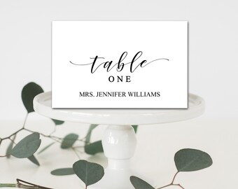 Editable welcome table place cards tent fold table setting editable wedding table place cards tent fold table setting name cards wedding table place pronofoot35fo Image collections