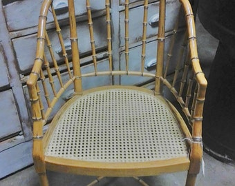 Cane Chair Etsy