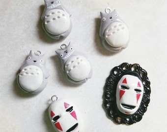 Totoro OR Noface Necklace