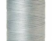 ON SALE Mettler Silk-Finish 50wt Solid Cotton Thread 547yd Moonstone