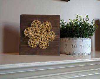 Ready to ship flower string art