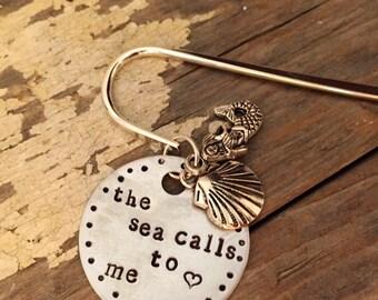 The Sea Calls to Me- Bookmark
