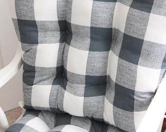 Custom Chair Cushions/ Glider Cushions/ Rocking Chair Cushions/ Glider  Replacement Cushions
