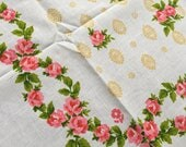 """Vintage Rose Floral Card Table Table Cloth 51"""" x 51"""""""