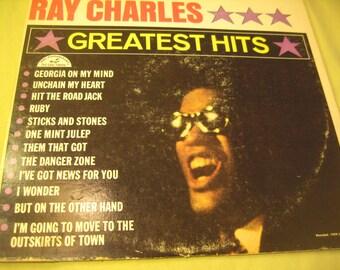 Ray Charles Greatest Hits ABCS 415 Vintage 60s LP Record Vinyl