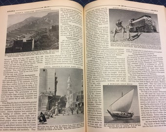 Compton's Pictured Encyclopedia and Fact-Index - Complete set - 15 volumes! A thru Z - Great Pictures and maps B&W and Color! Year 1953!