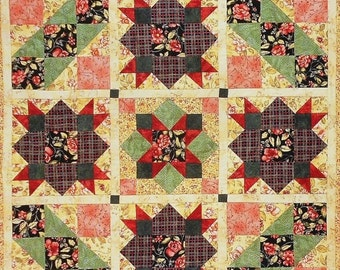 50%OFF | Marti Michell | LAZY AFTERNOON | Maywood Studio | Patchwork Applique Wall | Quilt Pattern | Template