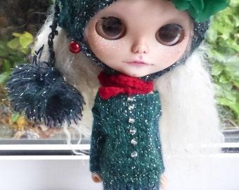 Blythe Winter Dress & Hat  (BD19816)